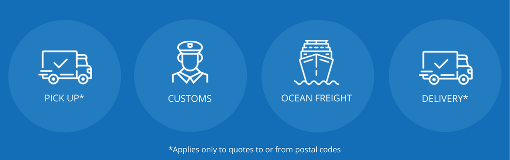 Ocean freight to Japan | iContainers